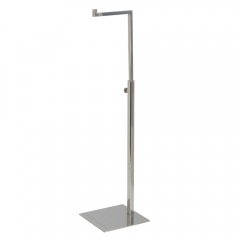 Polished Silver Handbag Display Stand