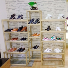 Retail Shoe Store Display Shelf