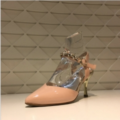 Acrylic crystal shoe mannequins
