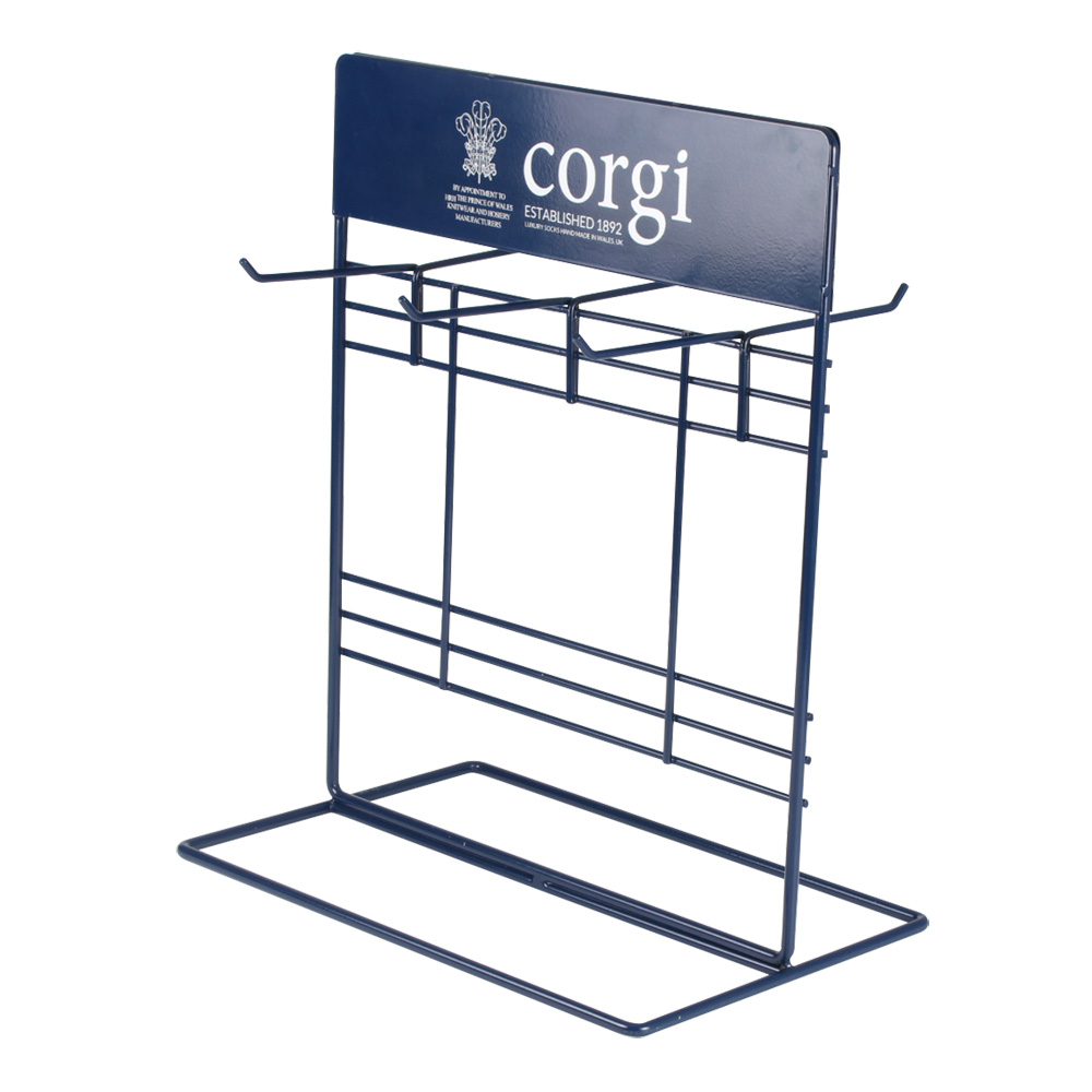 metal sock display rack