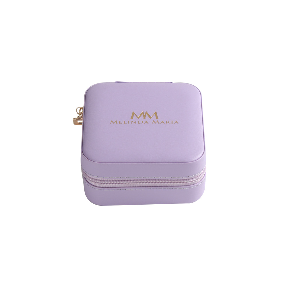 pu leather travel jewelry case