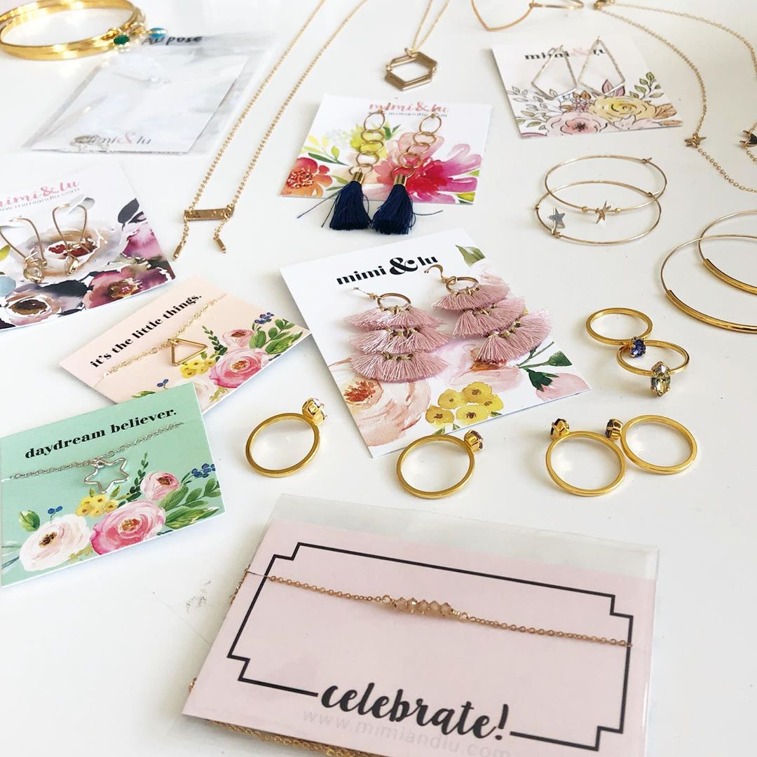 jewelry earring cards